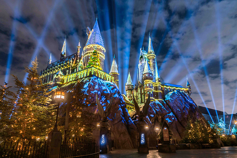 Universal Studios Hollywood Celebrates Its First New Year's Eve