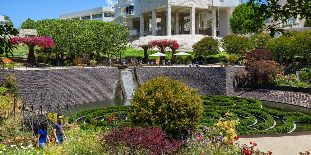 Must-See Gardens at the Getty Center