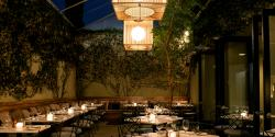 Dining in West Hollywood